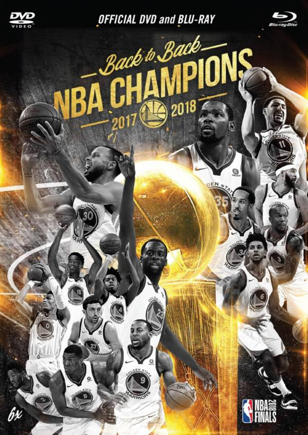 2018 NBA Champions Golden State Warriors DVD & Blu-Ray Combo product image
