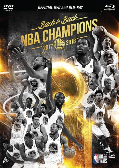 49fca6e686a 2018 NBA Champions Golden State Warriors DVD   Blu-Ray Combo ...