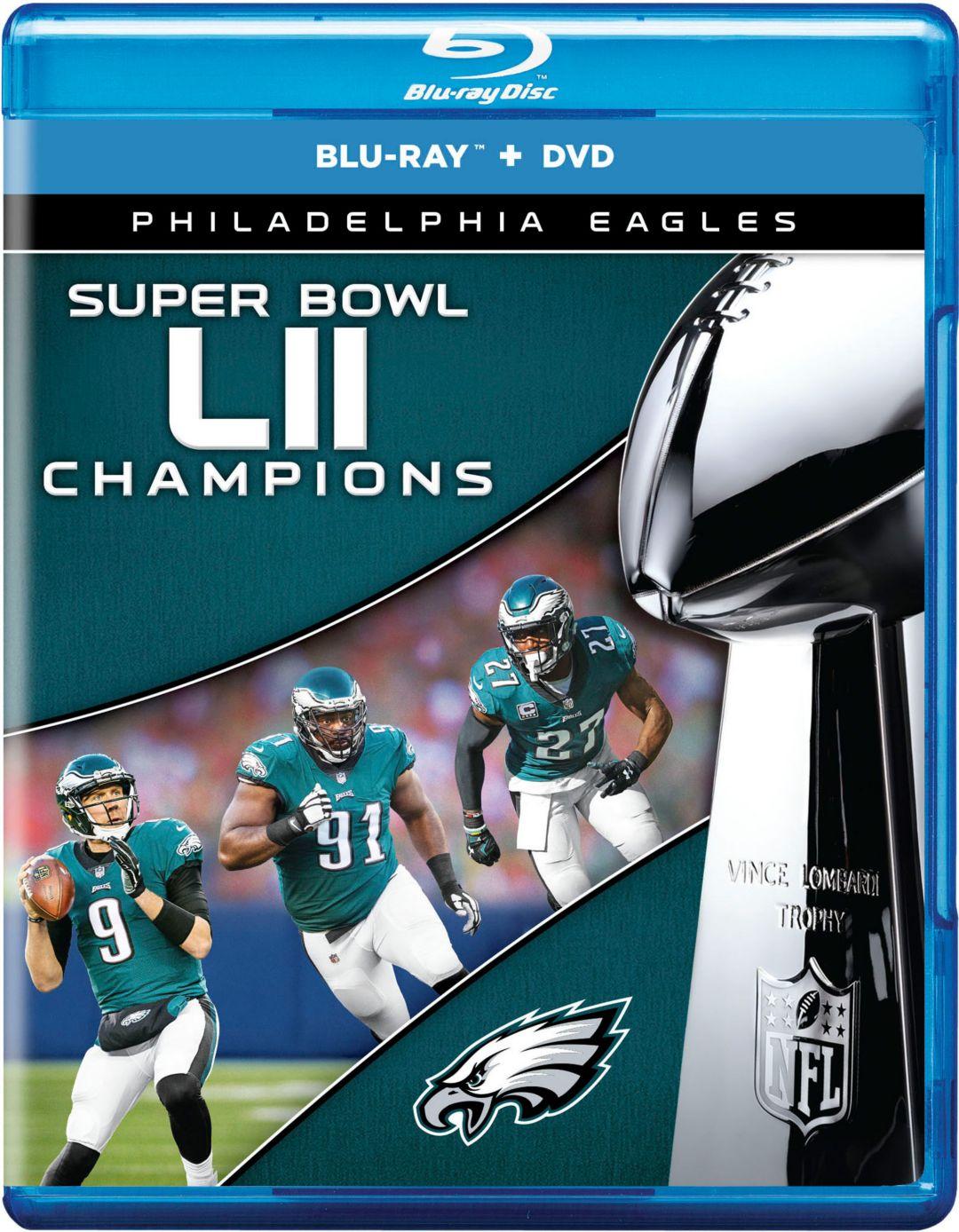 aa8582e7 Super Bowl LII Champions Philadelphia Eagles DVD & Blu-Ray Combo.  noImageFound. 1