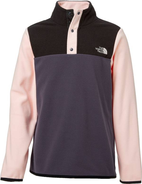 The North Face Girls' Glacier Snap Fleece Jacket product image