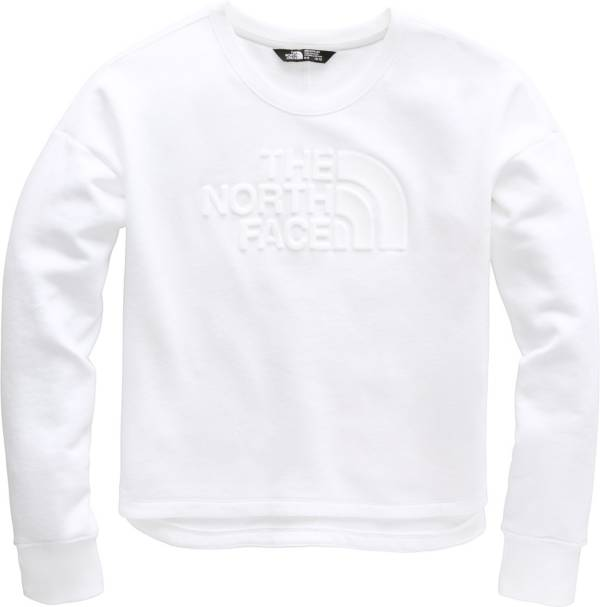 The North Face Girls' Logowear Crop Crew Pullover product image