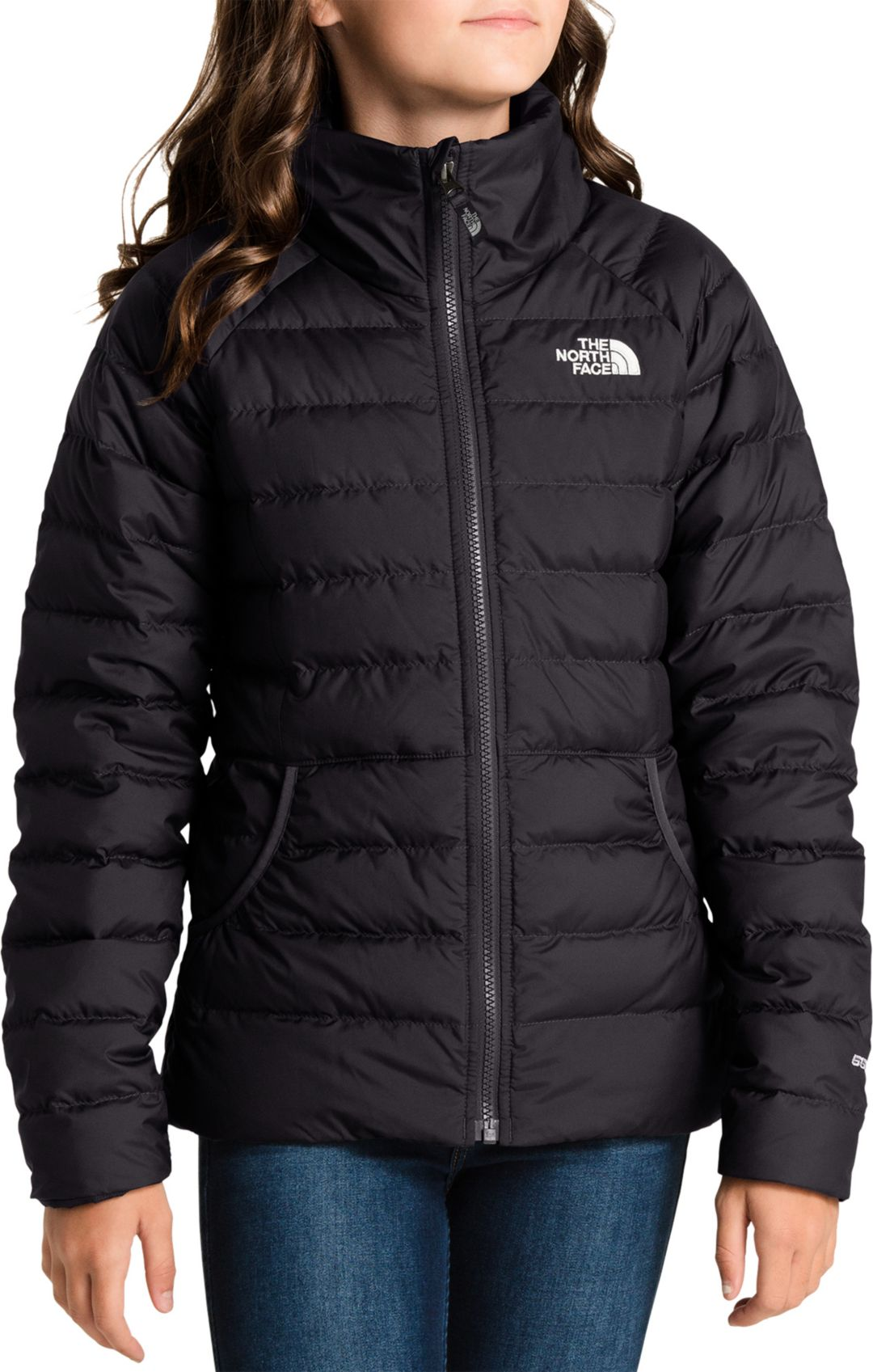 ad3ded24d The North Face Girls' Alpz Down Jacket