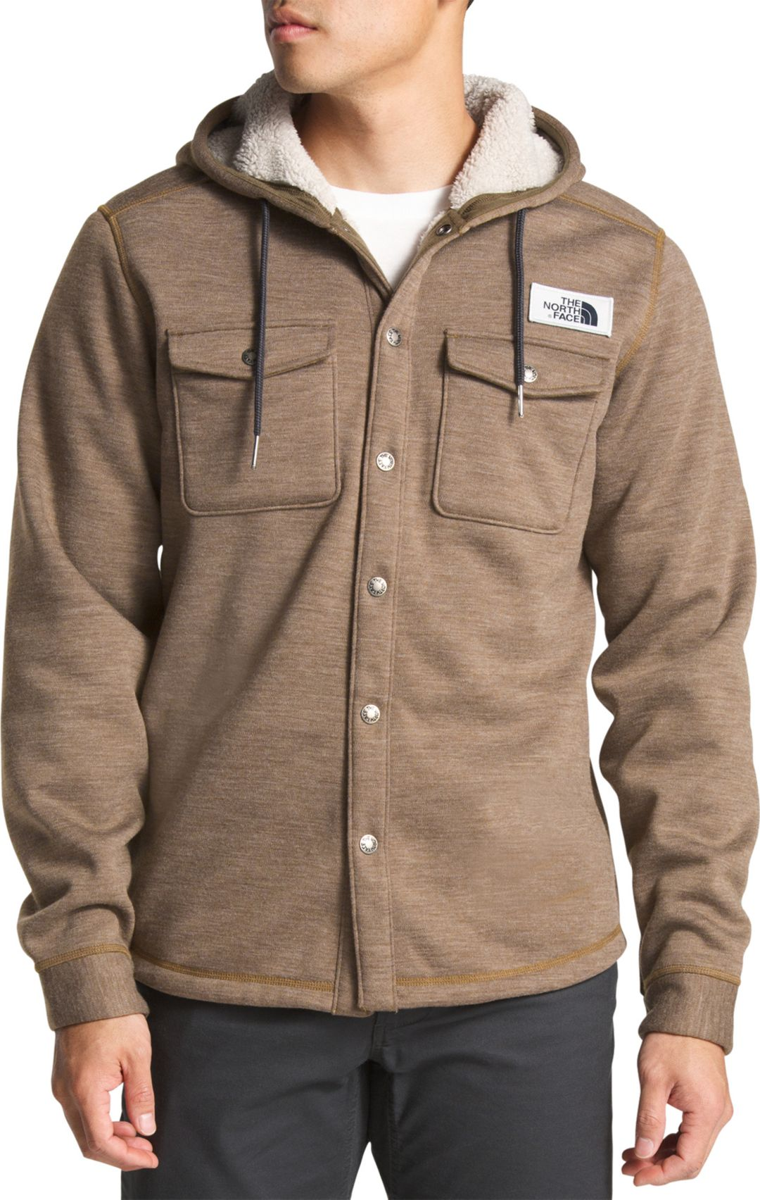 9268e621 The North Face Men's Sherpa Patrol Snap Up Fleece | DICK'S Sporting ...