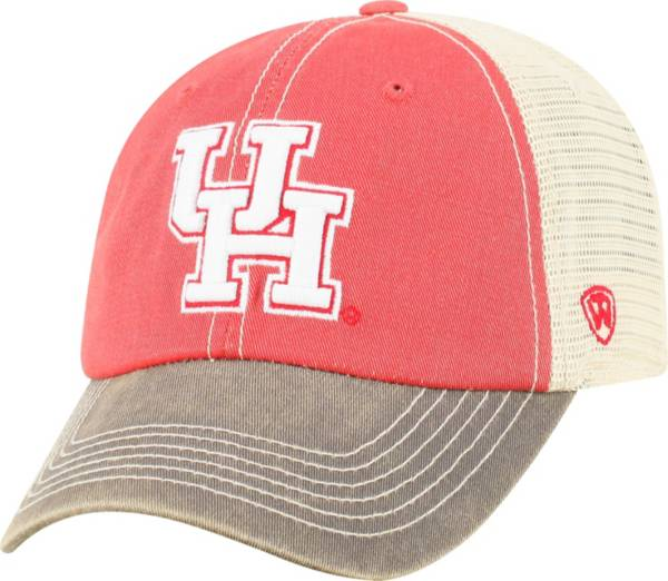 Top of the World Men's Houston Cougars Red Off Road Adjustable Hat product image