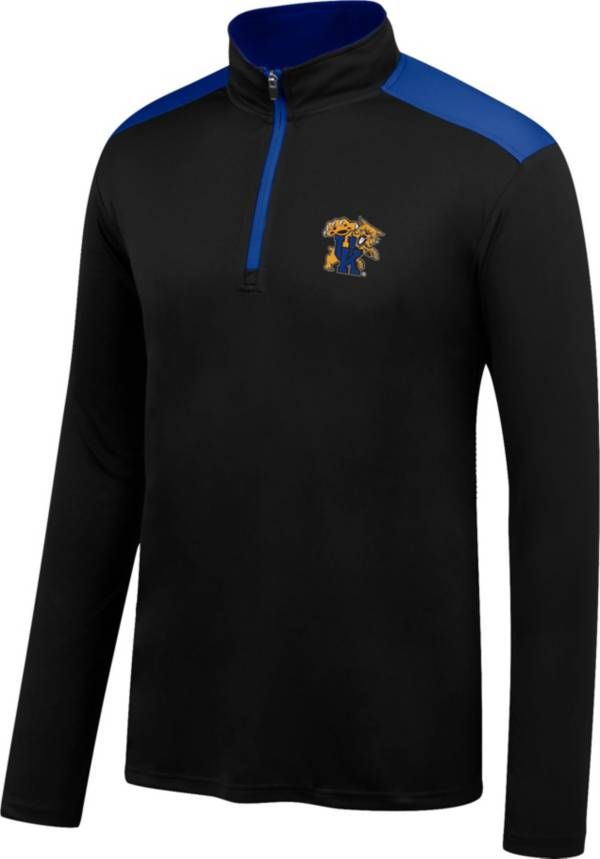 Top of the World Men's Kentucky Wildcats Black Get Up Quarter-Zip Top product image