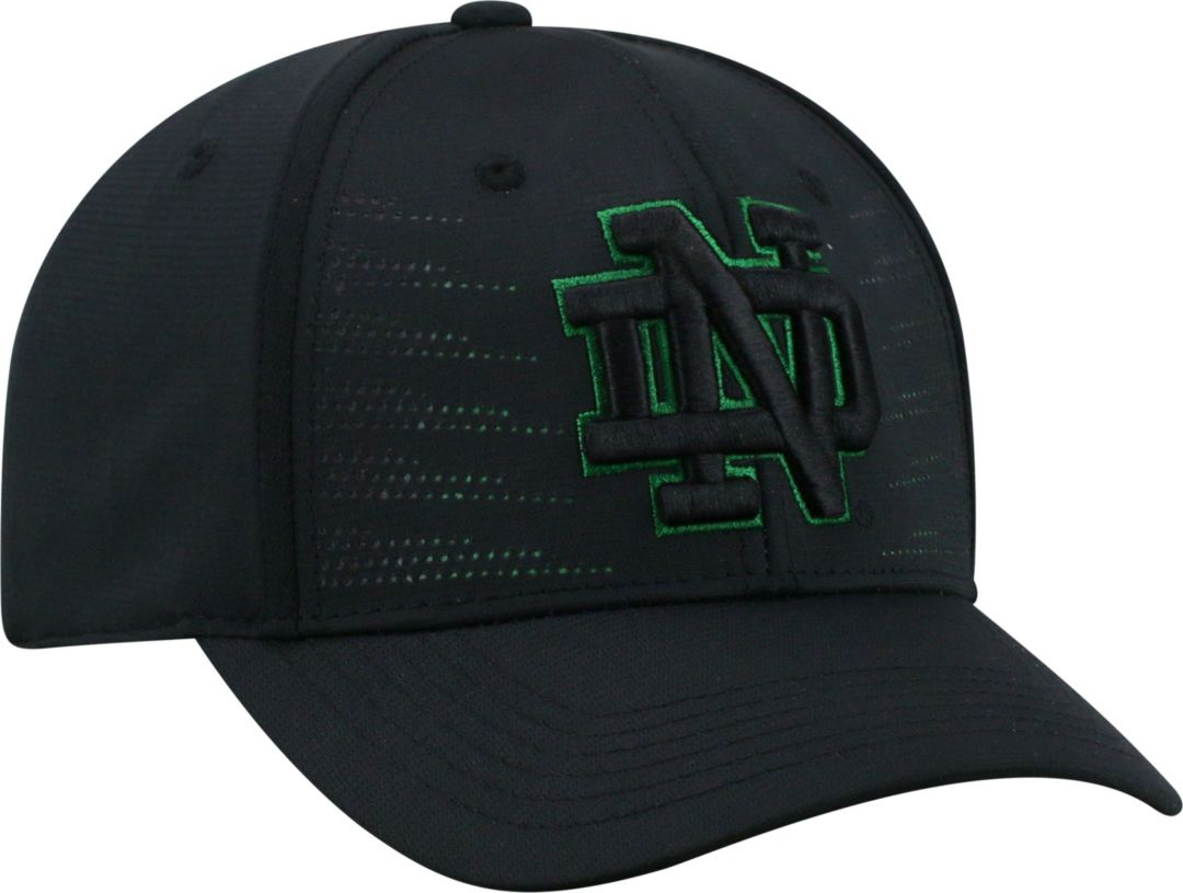 798ba83bf3 Top of the World Youth Notre Dame Fighting Irish Dazed 1Fit Flex Black Hat