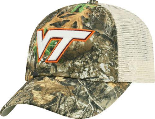 pretty nice 8c452 8a5ee Top of the World Men s Virginia Tech Hokies Camo Sentry Adjustable Hat.  noImageFound. Previous