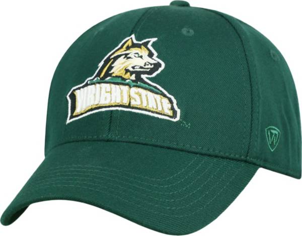Top of the World Men's Wright State Raiders Green Premium Collection M-Fit Hat product image