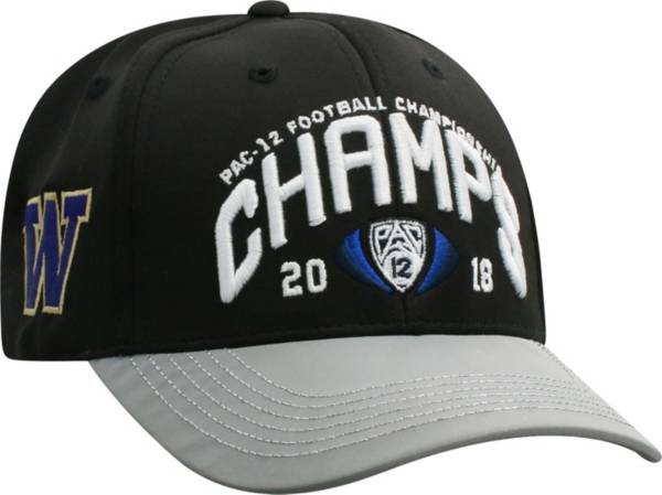 Top of the World Men's 2018 Pac-12 Football Champions Washington Huskies Locker Room Hat product image