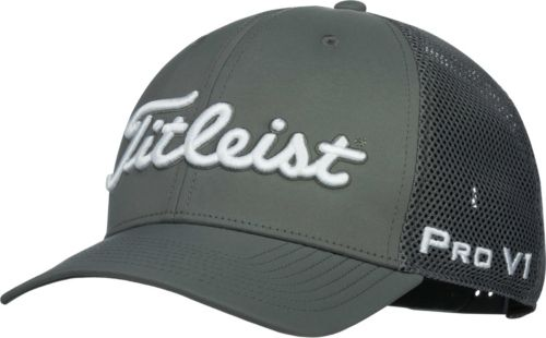 15d41ec982c Titleist Men s Tour Mesh Snapback Golf Hat. noImageFound. Previous