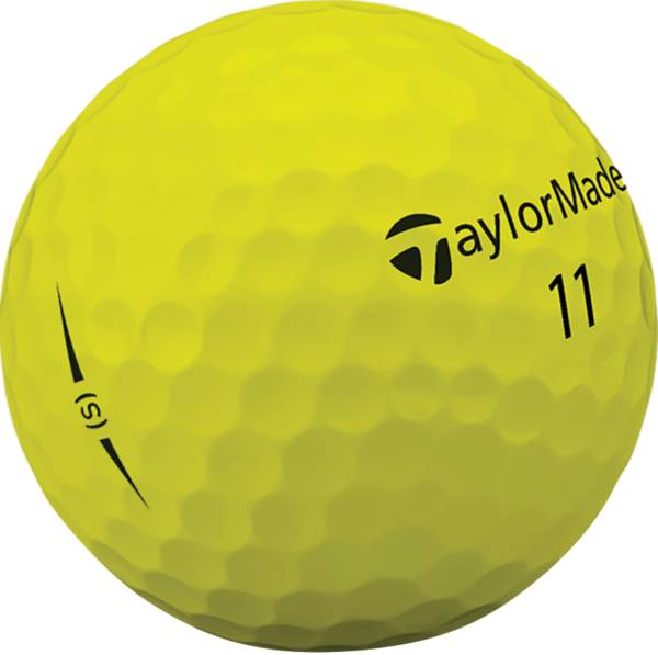 TaylorMade 2018 Project (s) Matte Yellow Golf Balls product image