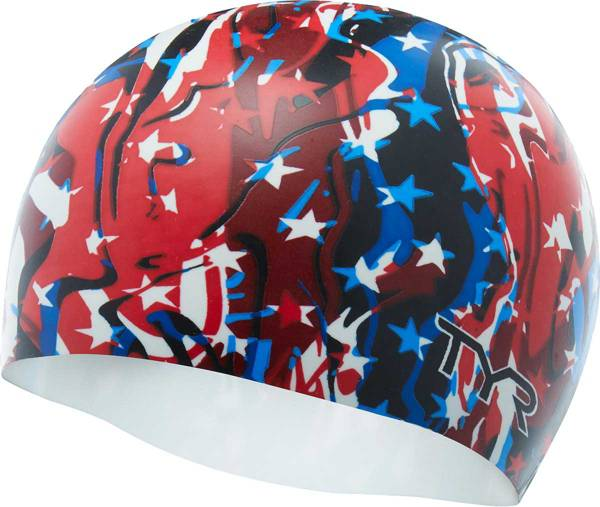 TYR Firecracker Swim Cap product image
