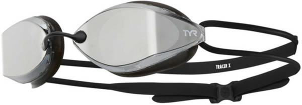 TYR Adult Tracer-X Nano Mirrored Racing Goggles product image