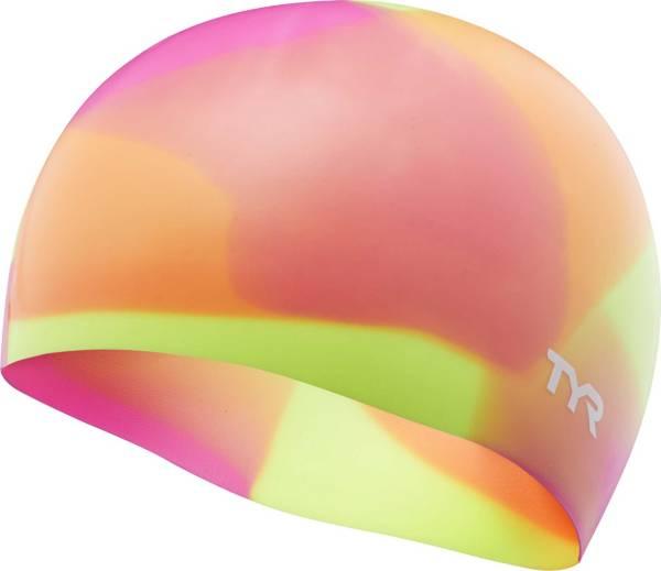 TYR Youth Tie Dye Swim Cap product image