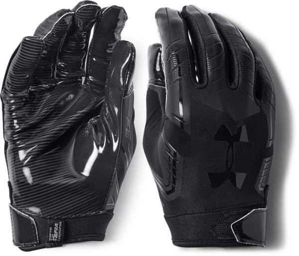 F6 Mens American Football Gloves Black Under Armour