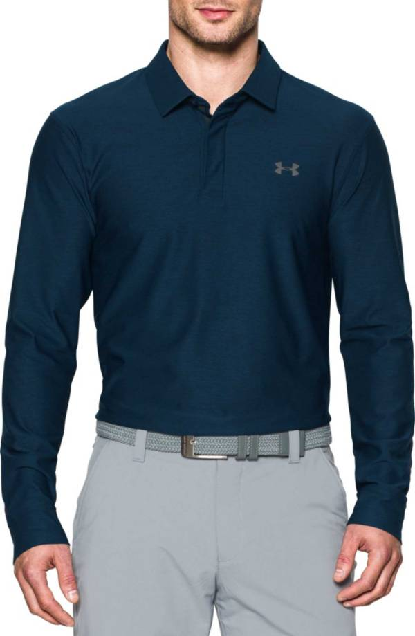 Under Armour Men's Long Sleeve Golf Polo – Extended Sizes product image