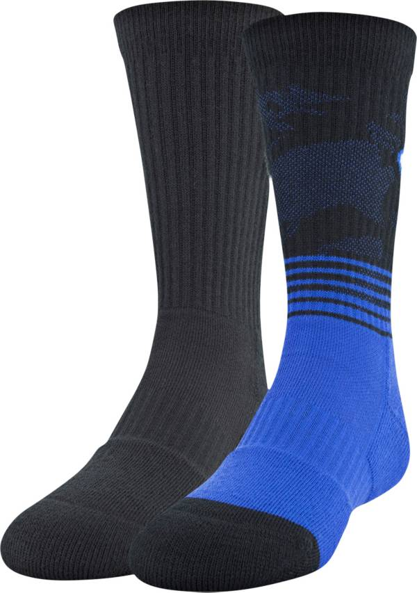 Under Armour Boys' Phenom 2.0 Crew Socks - 2 Pack product image