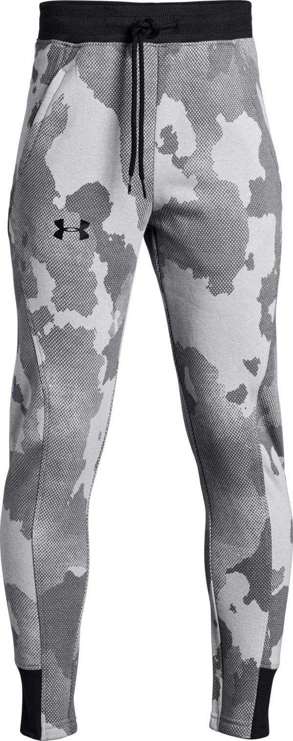 Under Armour Boys' Printed Rival Fleece Joggers product image