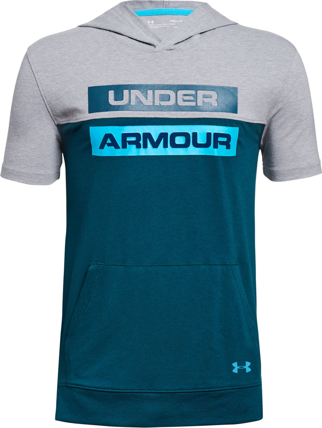 014a55668 Under Armour Boys' Sportstyle Short Sleeve Hoodie. noImageFound. Previous