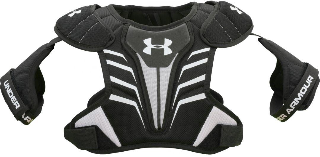 more photos 802ba d30c3 Under Armour Boys  Strategy Lacrosse Shoulder Pads