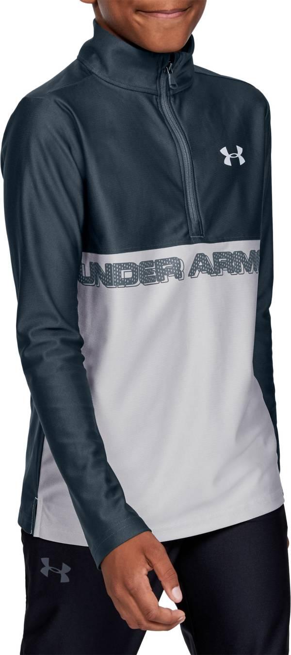 Under Armour Boys' Tech ½ Zip Long Sleeve Shirt product image