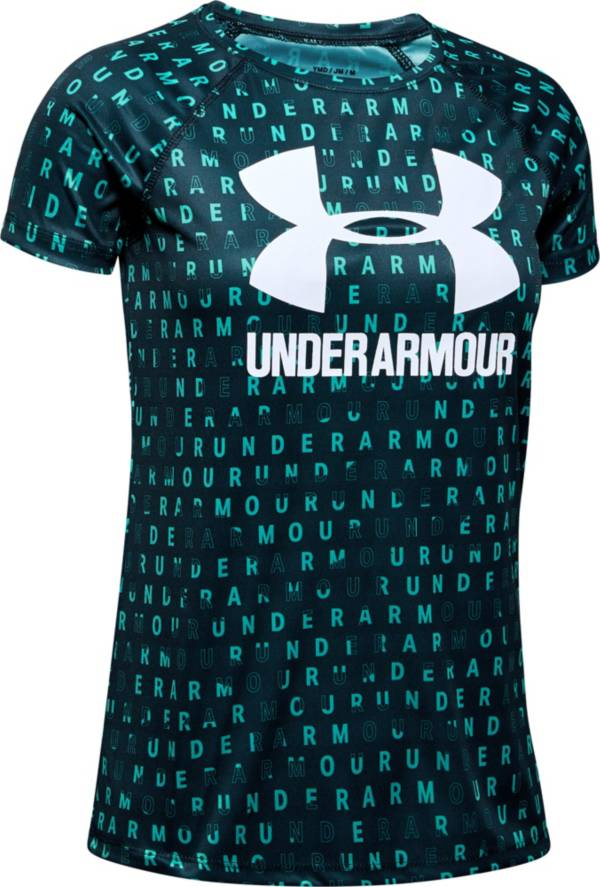 Under Armour Girls' Big Logo Novelty T-Shirt product image