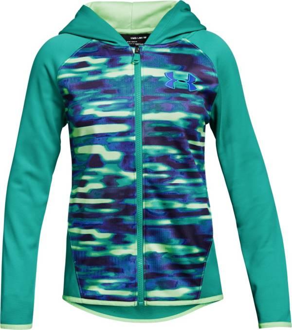 Under Armour Girls' Armour Fleece Printed Full Zip Hoodie product image