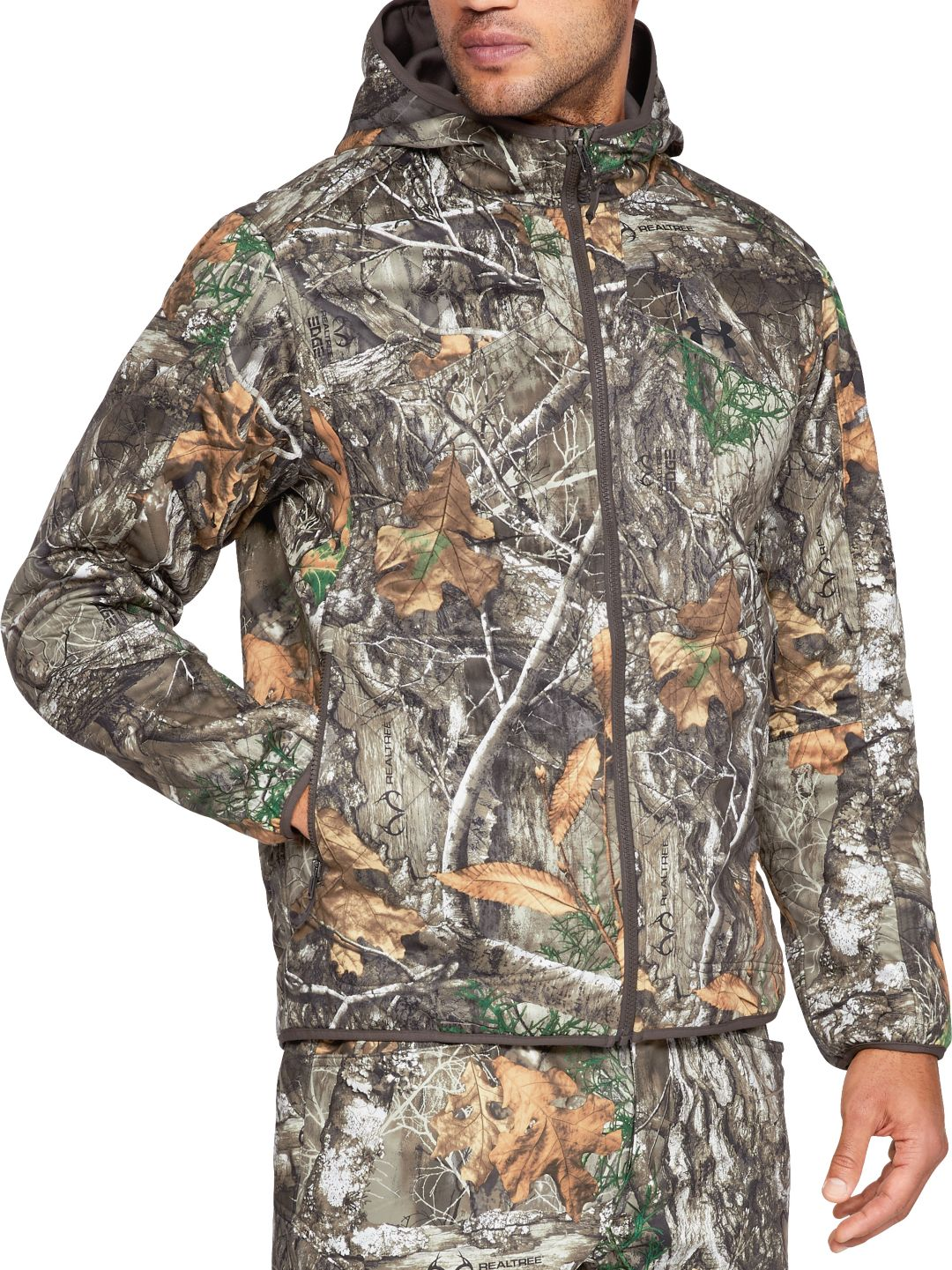 44bd7523a3d94 Under Armour Men's Brow Tine Hunting Hoodie. noImageFound. Previous. 1