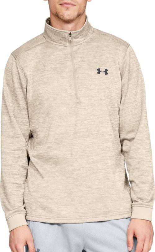 0e226655b51c Under Armour Men s Armour Fleece ½ Zip Long Sleeve Shirt