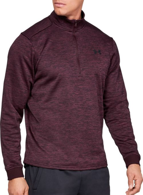 Under Armour Men s Armour Fleece ½ Zip Long Sleeve Shirt. noImageFound.  Previous 702499f4079