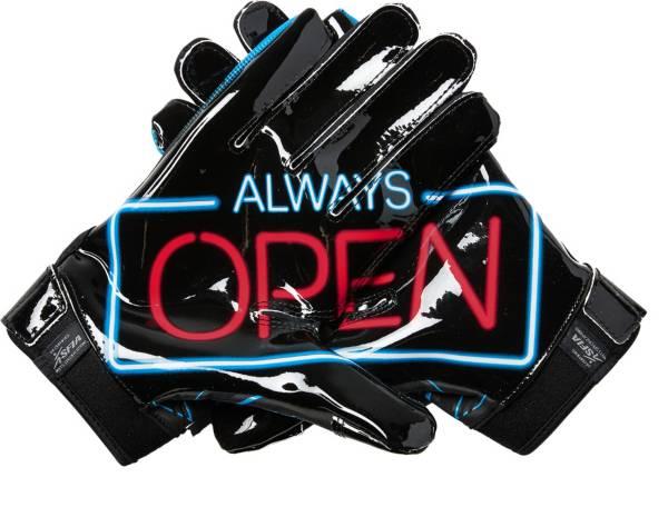 Always open wide receiver gloves