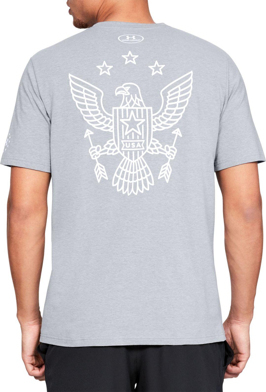 5db4afc0 Under Armour Men's Freedom Eagle Arrow Short Sleeve T-Shirt