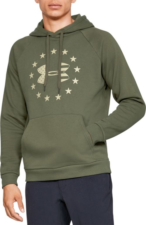 39fc6a876334 Under Armour Men s Freedom Rival Fleece Hoodie. noImageFound. Previous