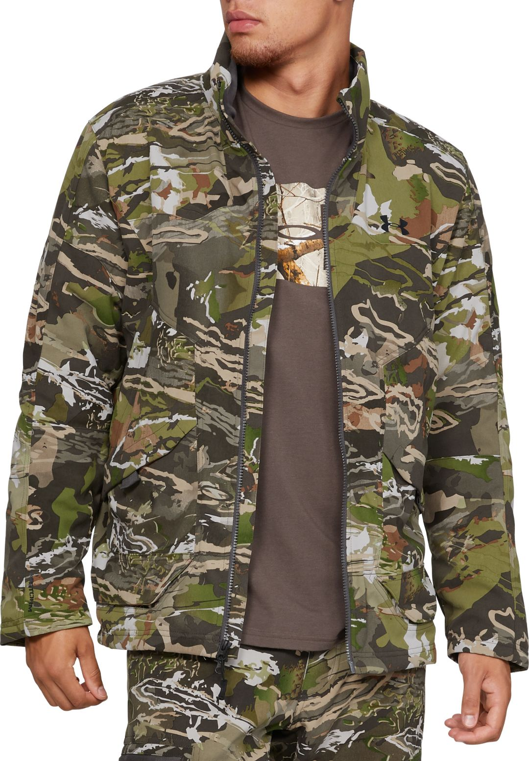 600bba0f4e6b3 Under Armour Men's Grit Hunting Jacket | DICK'S Sporting Goods