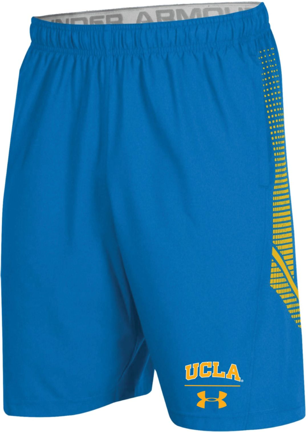 huge discount 82d91 43234 Under Armour Men s UCLA Bruins True Blue Sideline Pinnacle Shorts.  noImageFound. 1