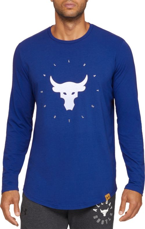72eaa9fb313c Under Armour Men s Project Rock Brahma Bull Graphic Long Sleeve Shirt.  noImageFound. Previous