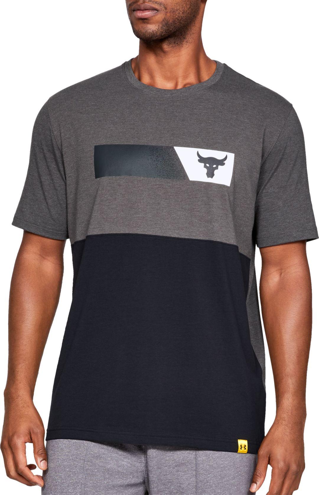 c5d979f32 Under Armour Men's Project Rock Bar Graphic T-Shirt   DICK'S ...