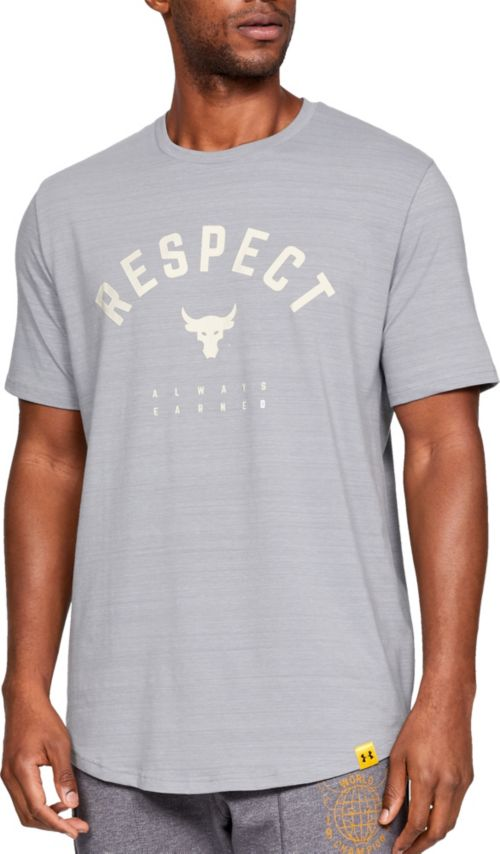 de5f12aa65 Under Armour Men s Project Rock Respect Graphic T-Shirt. noImageFound.  Previous