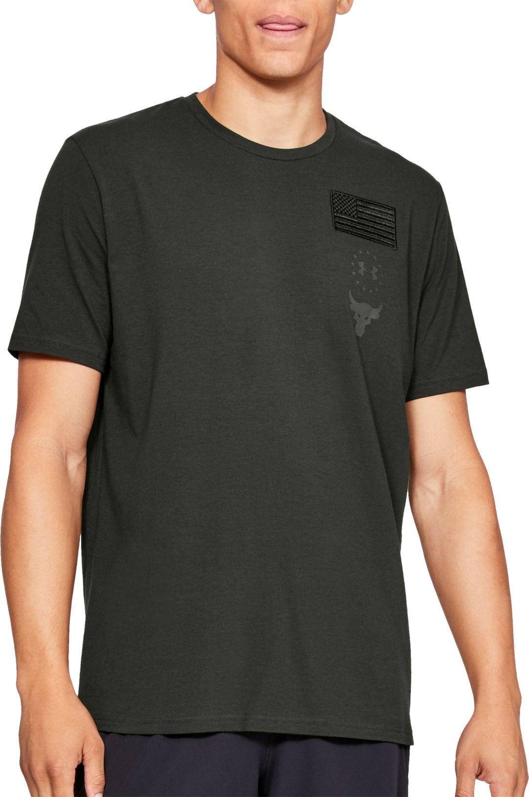 4ff406cb1 Under Armour Men's Project Rock USDNA Graphic T-Shirt. noImageFound.  Previous