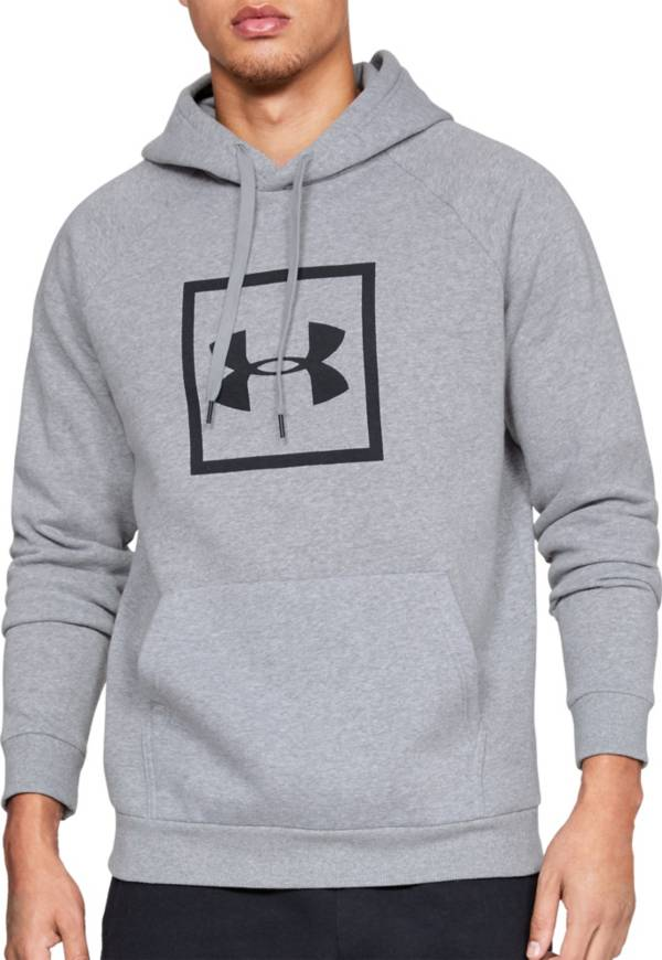 Under Armour Men's Rival Fleece Logo Hoodie (Regular and Big & Tall) product image