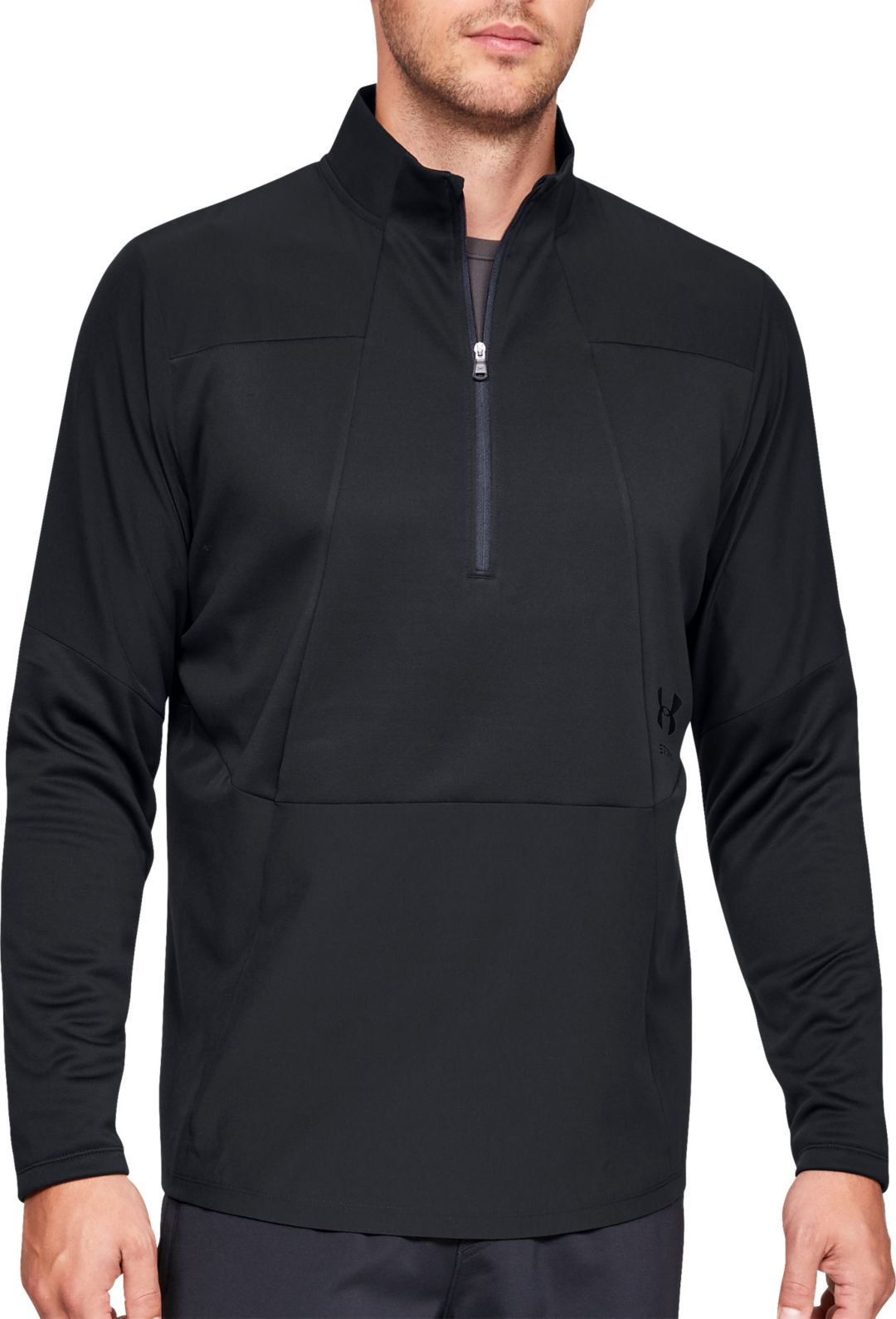 5ca01f9bb Under Armour Men's Storm Cycle ½ Zip Long Sleeve Shirt. noImageFound.  Previous