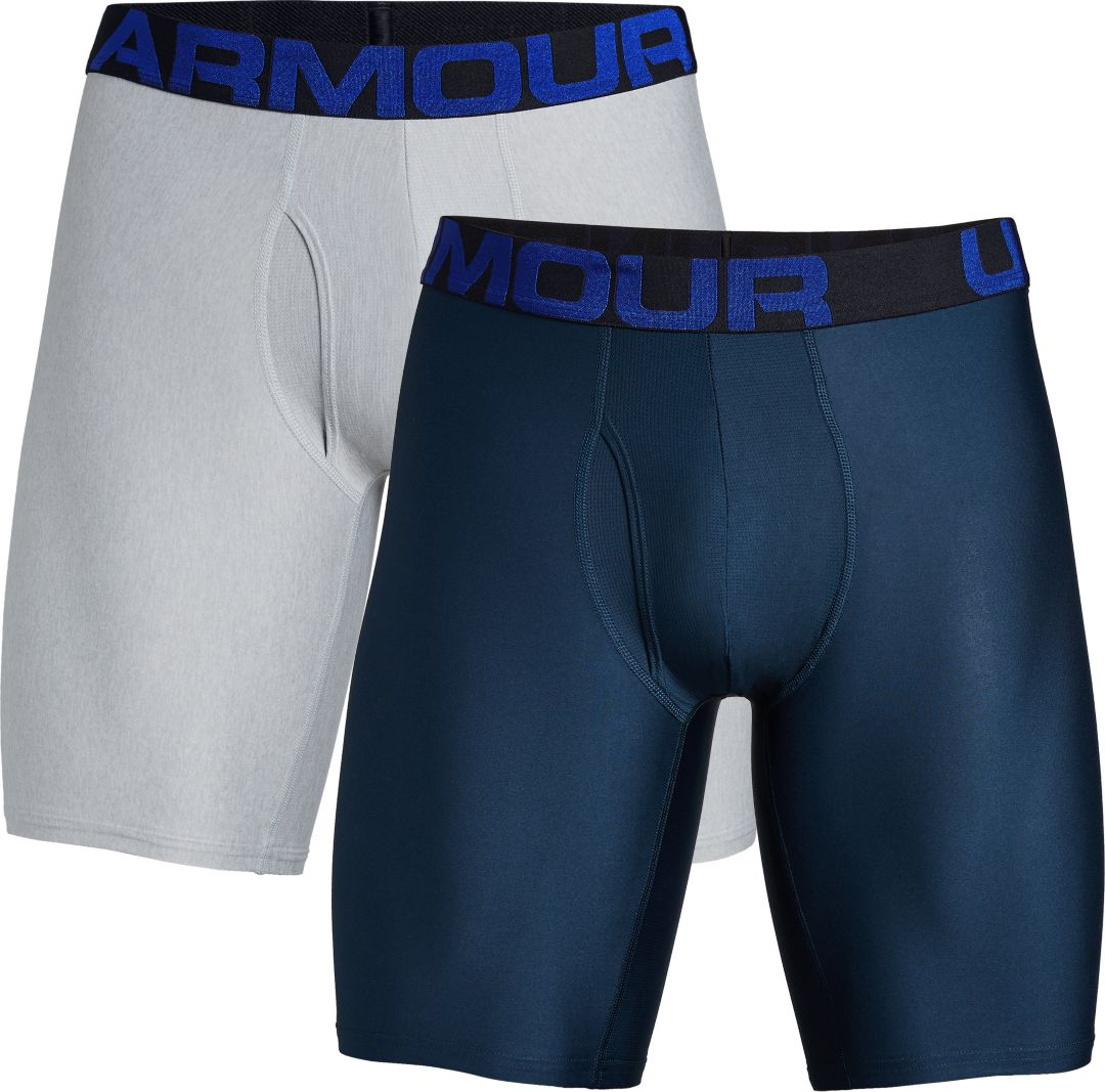 a3615ccff3 Under Armour Men's Tech 9'' Boxerjock Boxer Briefs - 2 Pack