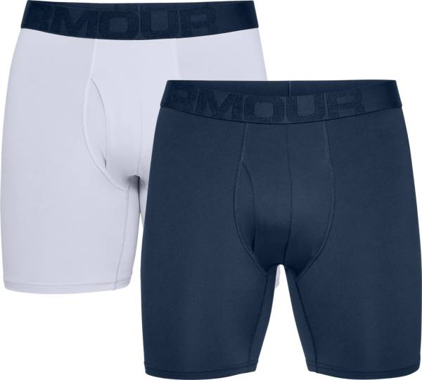 Under Armour Men's Tech Mesh 6'' Boxer Briefs - 2 Pack (Regular and Big & Tall) product image