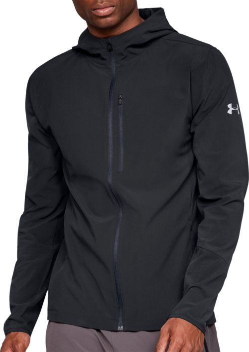 Clothing & Accessories Blue Men's Clothing Under Armour Outrun The Storm Mens Running Jacket