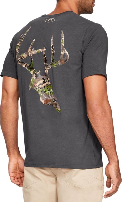 Under Armour Men s Whitetail Skull Short Sleeve T-Shirt  a1cfc2498b7