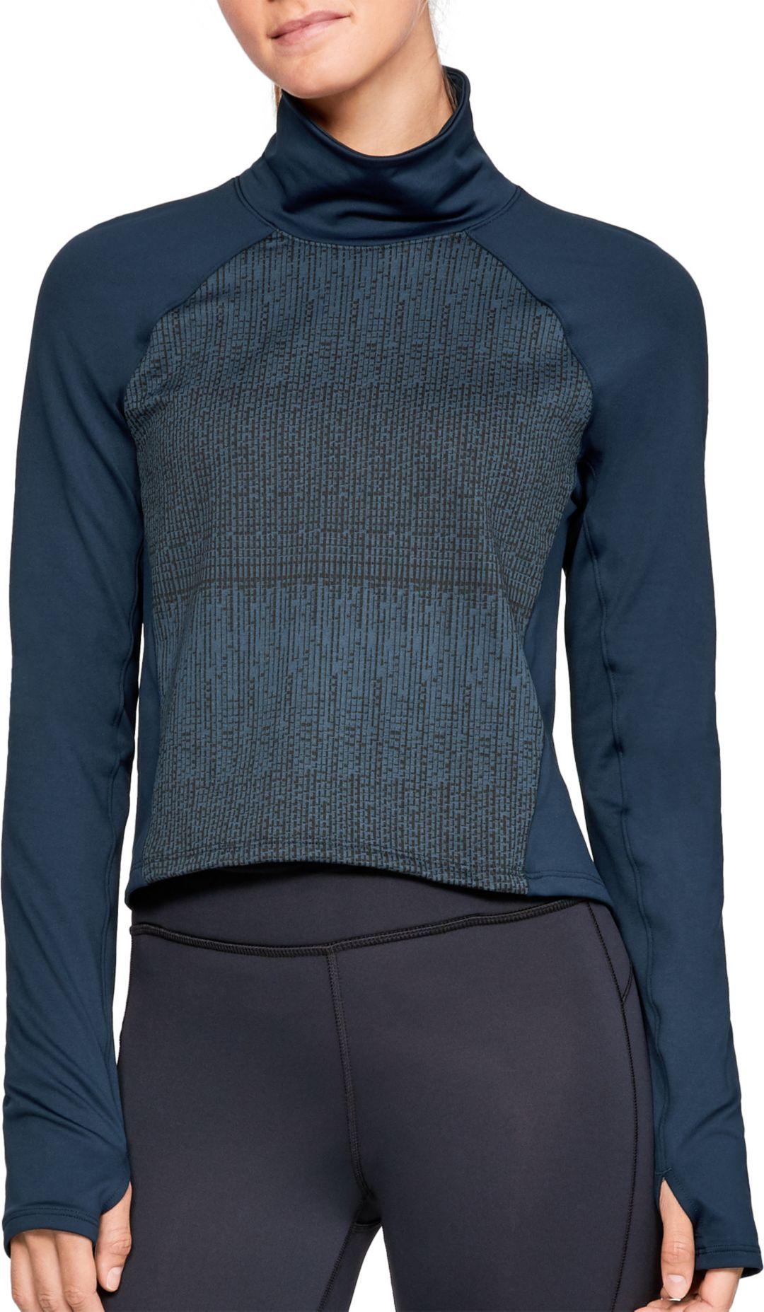 699c79ad Under Armour Women's ColdGear Cozy Mock Neck Long Sleeve Shirt