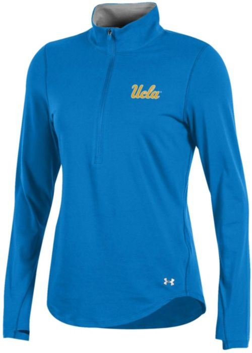 Under Armour Women s UCLA Bruins True Blue Charged Cotton Quarter-Zip  Shirt. noImageFound. 1 e8d9290138