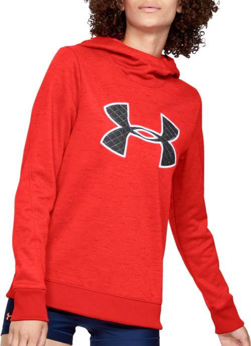 Under Armour Women s Armour Fleece Big Logo Hoodie. noImageFound. Previous 9572481a8