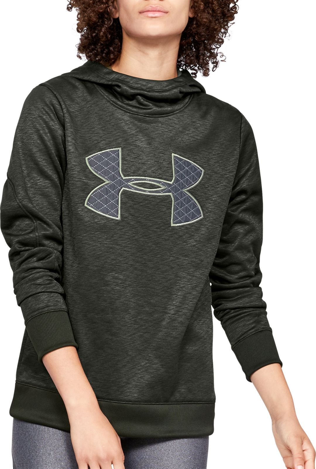 ef9df6140e Under Armour Women's Armour Fleece Big Logo Hoodie