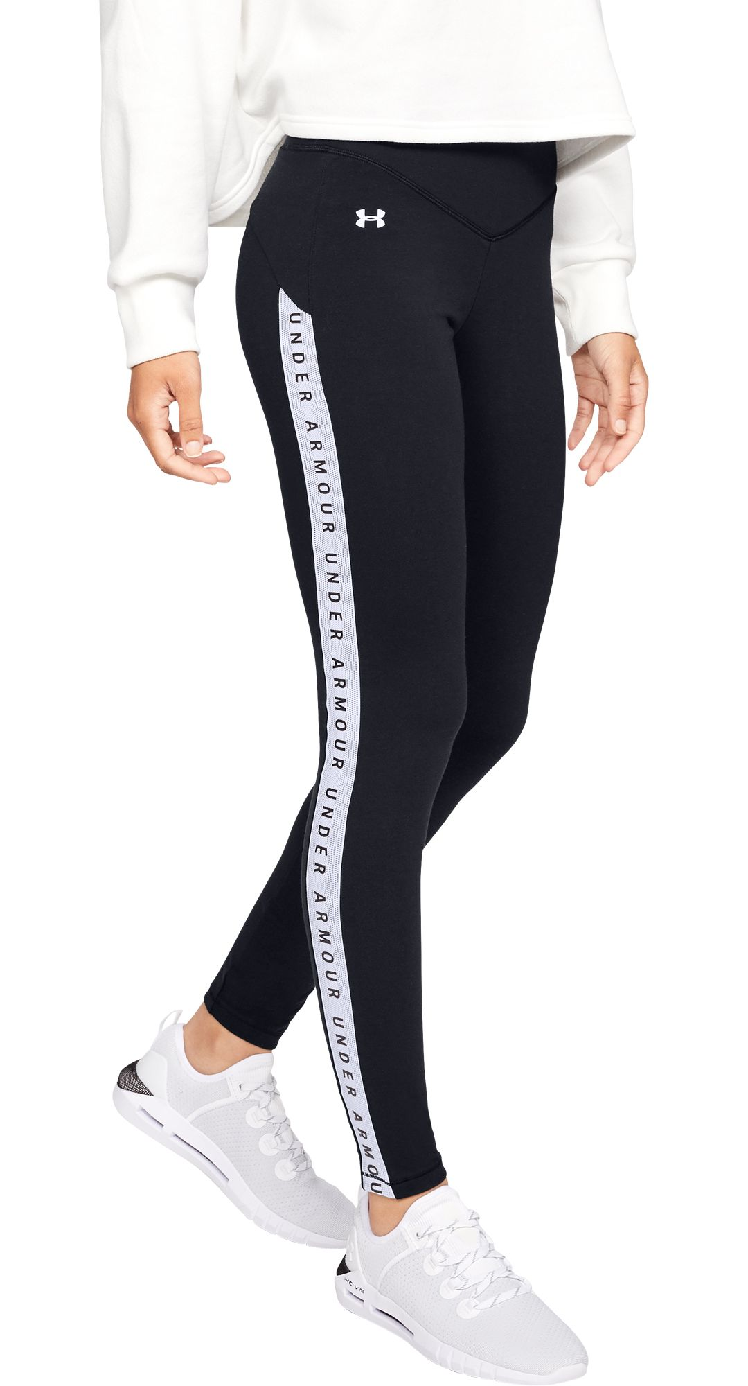 d5dd2d0a3745a2 Under Armour Women's Taped Favorite Leggings. noImageFound. Previous